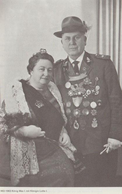 Königspaar Max I  Lotte I  1962-1963  Sowinski