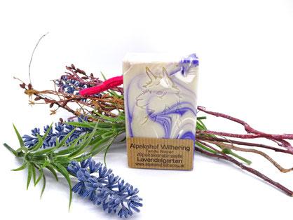 Alpaka Seife Lavendel