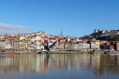 Porto - Blick über den Douro