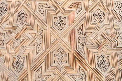 Holzeinlegearbeiten, Nasridenpalast, Alhambra
