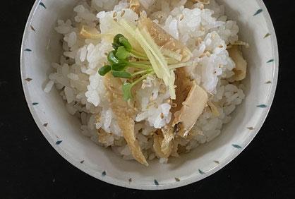 炊き込みご飯の素『鯛めし』調理例