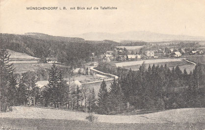 Bild: Srbská Wünschendorf Böhmen 1920 Srbská