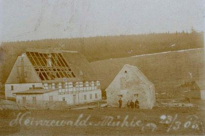 Bild: Wünschendorf Buschmühle Heinzewald 1905
