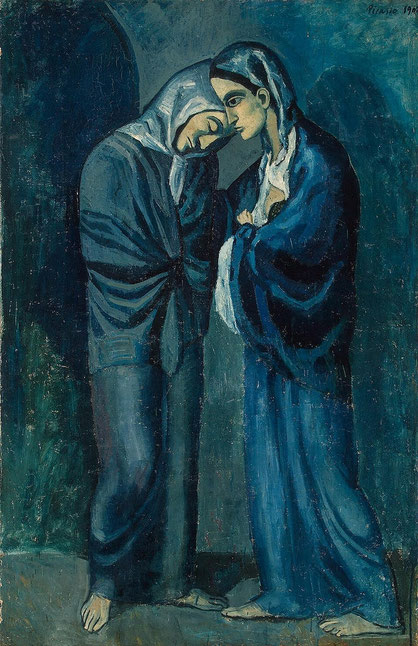 """P. Picasso, """"Le due sorelle"""""""