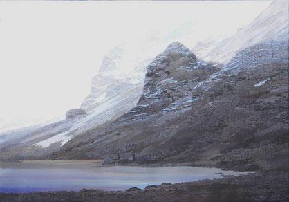 "Martin Becker ""Fjordlandschaft"", 2007, Öl/Lwd, 50/70 cm"