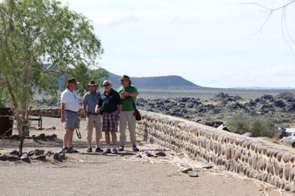 Nautestaudamm der grösste Stausee Namibias