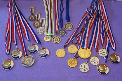 Quelques médailles!