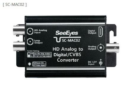 HDアナログto HDMI&アナログ変換コンバーター(SC-MAC02) 製品写真