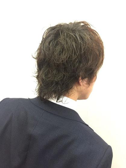 横浜・日吉・菊名・美容室☆女性の笑顔を作る専門家☆美容家 奥条勇紀 ボディーパーマでお手入れ楽ちんなニュアンスヘアーに