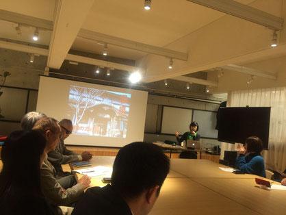 NAD lab.が講演&懇親会会場でした。