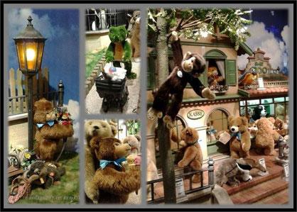 Steiff Zoo in der Galeria Kaufhof Hannover 2015