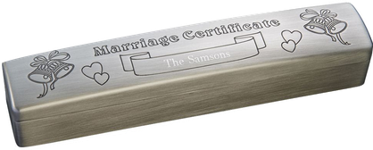 CGW23434 Wedding Marriage Certificate Holder