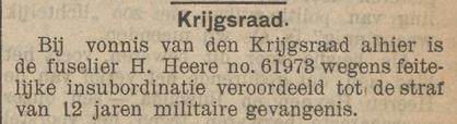Het nieuws van den dag voor Nederlandsch-Indië 11-10-1913