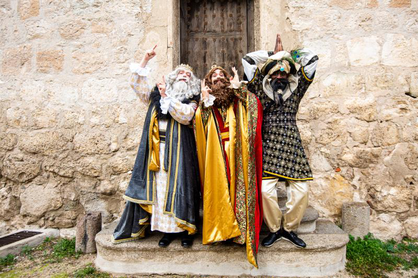 Cabalgata de Reyes de Pinto
