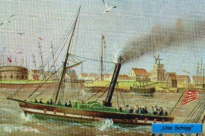 "aus: 125 J. AG ""Weser"" engl. Ausgabe"