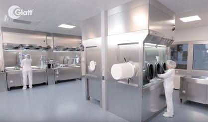 Glatt laboratory containment @ Corden Pharma