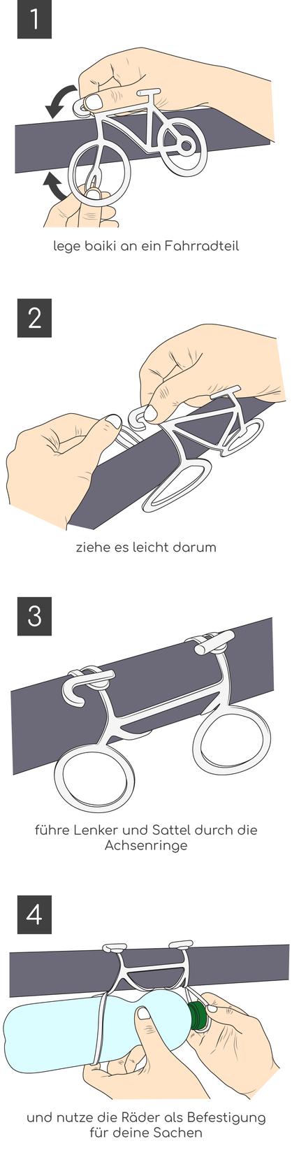 Anleitung: So funktioniert das baiki Universalband / Gummiband