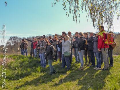 Die Exkursion stieß auf großes Interessse (Foto: Gerhard Raab)