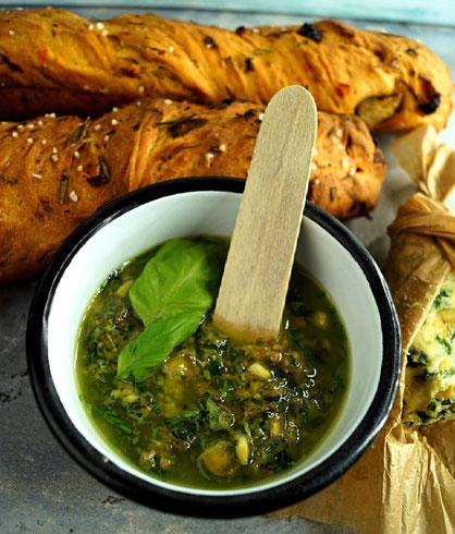 Salsa verde, der Spur nach einem Jamie Oliver-Rezept... oder auch nicht