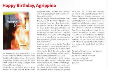 Weißer Dorfecho 9/2015 über Agrippina-News beamen war gestern
