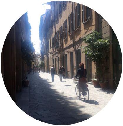 Milan à vélo