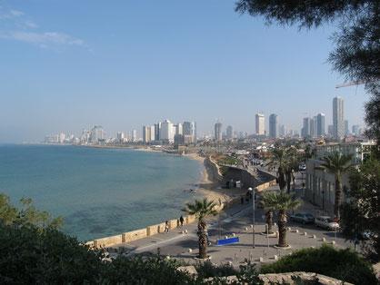 View of Tel-Aviv from Jaffa