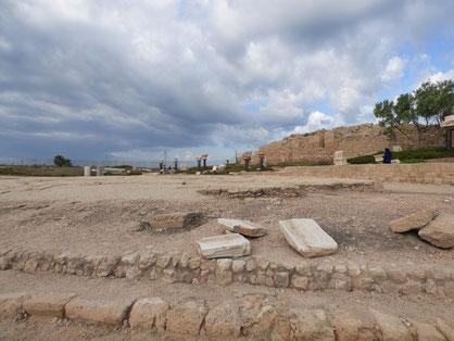Ceasarea ruins