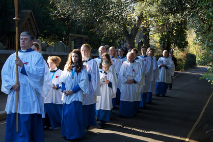 The Choir of St Mary Merton, Remembrance Sunday 2011