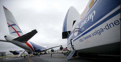 Russia's Volga-Dnepr Group and Cainiao / Alibaba will closely cooperate  -  photo: RAI