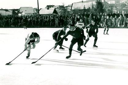 EHC Biel, Eishockey auf Natureis