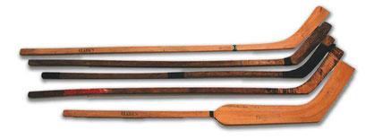 Alter Eishockeyschläger, alter Eishockeystock