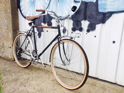 renovation vélo randonneuse vintage en vélo taf quotidien