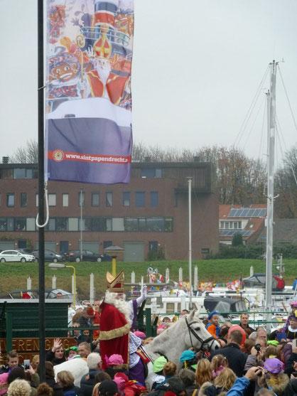 Sinterklaas komt aan in Papendrecht, 15 november 2014