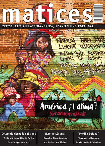 Ausgabe 88: Sprachenvielfalt in Lateinamerika