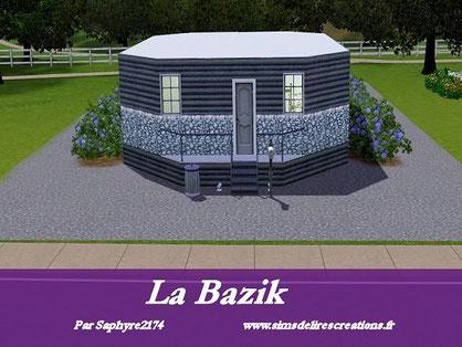 simsdelirescreations Sims sims3 Bazik maison creation saphyre2174