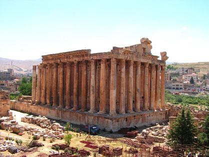 Bachus Tempel Baalbek