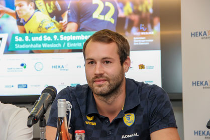 Nationalspieler Steffen Fäth trägt nach zehn Jahren wieder das Trikot der Rhein-Neckar Löwen.