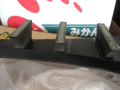 琵琶 柱の接着部分