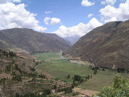 Übernachten im Heiligen Tal bei Cusco auf dem Weg nach Machu Picchu