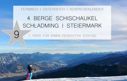 4 Berge Schischaukel Schladming, Hauser Kaibling, Planai, Hochwurzen, Reiteralm, 7 Tipps für einen perfekten Schitag, Schifahren in Schladming
