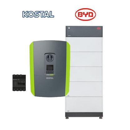 KOSTAL Plenticore Plus + BYD B-BOX PREMIUM HVS / HVM Energiespeicher