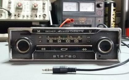 Becker Mexico Cassette Vollstereo MP3 Nachrüstung