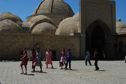 voyage à vélo en ouzbékistan, bike touring