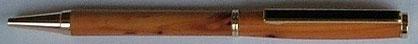 Drehkugelschreiber Eibe Holz