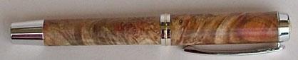 Füllfederhalter Box Elder Naturholz rot