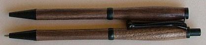 Schreibgeräte Set, Drehkugelschreiber und Feinminenbleistift