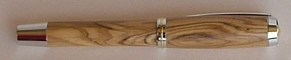 Rollerball Schreibgerät aus Olivenholz