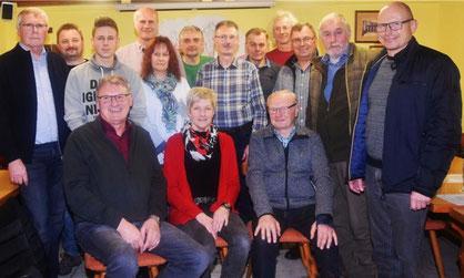 Neue Vorstandschaft beim Imkerverein Burglengenfeld/Maxhütte-Haidhof in 2020