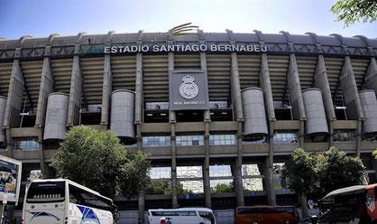 Madrid: il Santiago Bernabeu