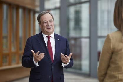 Der neugewählte CDU-Vorsitzende Armin Laschet; Bild: CDU/Laurence Chaperon